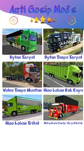 Mod Truck Canter Anti Gosip BUSSID v screenshots 4