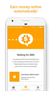 Money SMS Make Money Online v1.0.4-demo screenshots 2