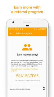 Money SMS Make Money Online v1.0.4-demo screenshots 3