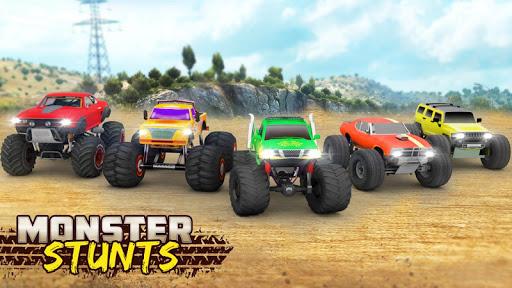 Monster Truck Stunt Driving Games Truck Simulator v2.4 screenshots 12