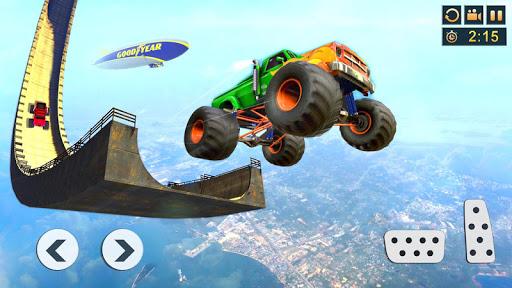 Monster Truck Stunt Driving Games Truck Simulator v2.4 screenshots 5