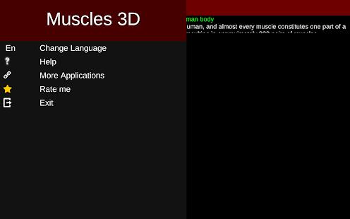 Muscular System 3D anatomy v2.0.8 screenshots 24