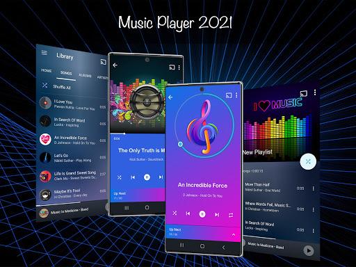 Music Player 2021 vv3.6.0 screenshots 1