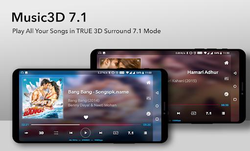 Music Player 3D Surround 7.1 FREE v2.0.71 screenshots 2