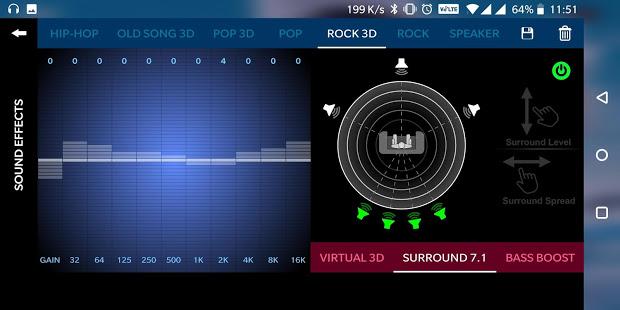 Music Player 3D Surround 7.1 FREE v2.0.71 screenshots 6