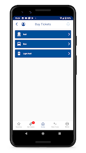 NJ TRANSIT Mobile App v2021.3.2.0A screenshots 2
