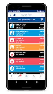 NJ TRANSIT Mobile App v2021.3.2.0A screenshots 4