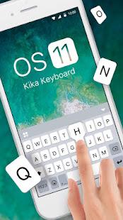 New OS11 Keyboard Theme v108.0 screenshots 1