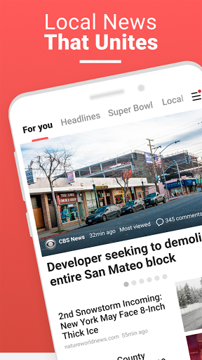 NewsBreak Local News that Connects the Community v19.2.3 screenshots 1