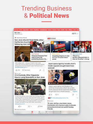 NewsBreak Local News that Connects the Community v19.2.3 screenshots 12