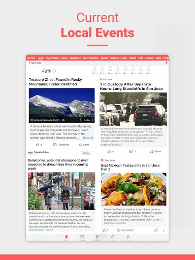 NewsBreak Local News that Connects the Community v19.2.3 screenshots 5