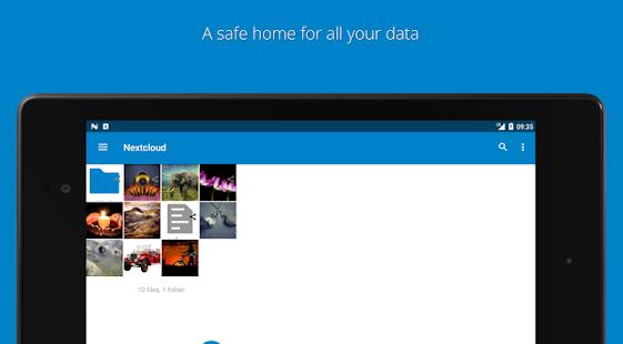 Nextcloud v3.16.1 screenshots 7