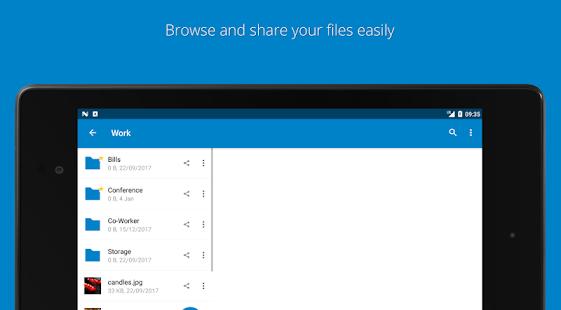 Nextcloud v3.16.1 screenshots 8
