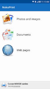 NokoPrint – WiFi Bluetooth USB printing v3.9.8 screenshots 1