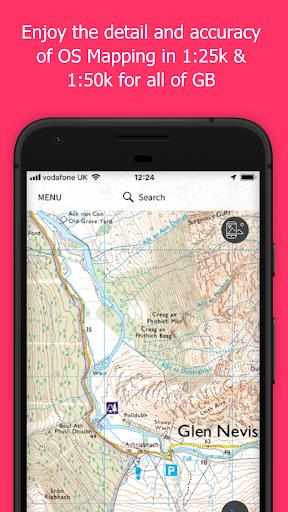 OS Maps Explore hiking trails amp walking routes v3.0.8.871 screenshots 1