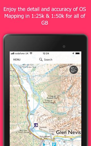OS Maps Explore hiking trails amp walking routes v3.0.8.871 screenshots 5