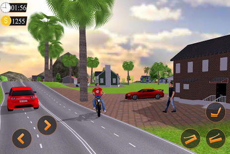 Offroad Bike Taxi Driver Motorcycle Cab Rider v3.2.1 screenshots 2