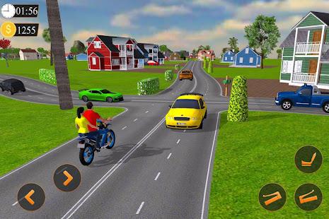 Offroad Bike Taxi Driver Motorcycle Cab Rider v3.2.1 screenshots 4