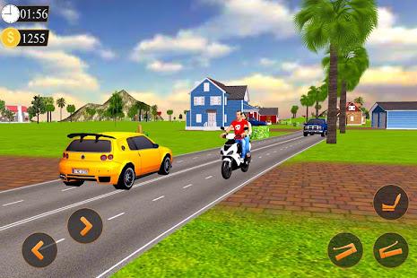 Offroad Bike Taxi Driver Motorcycle Cab Rider v3.2.1 screenshots 6