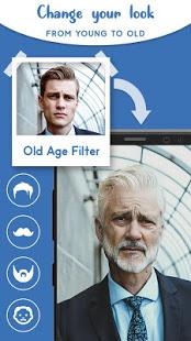 Old Age Face effects App Face Changer Gender Swap v1.1.5 screenshots 1