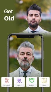 Old Age Face effects App Face Changer Gender Swap v1.1.5 screenshots 2