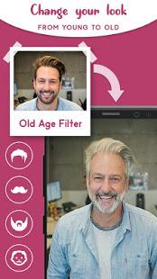 Old Age Face effects App Face Changer Gender Swap v1.1.5 screenshots 3