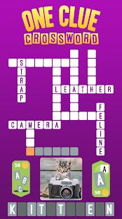 One Clue Crossword v4.3 screenshots 1