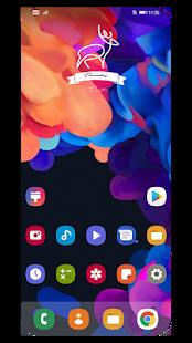 One-Ui Dark EMUI 910 THEME v2.3.4 screenshots 2