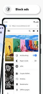 Opera Browser Fast amp Private v64.1.3282.59829 screenshots 3