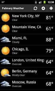 Palmary Weather v1.3.4 screenshots 1