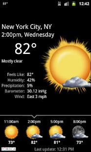 Palmary Weather v1.3.4 screenshots 2