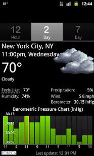 Palmary Weather v1.3.4 screenshots 4