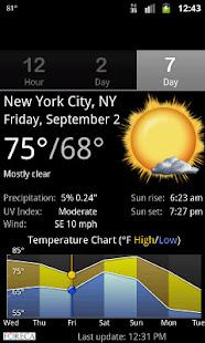 Palmary Weather v1.3.4 screenshots 5