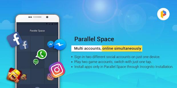 Parallel Space LiteDual App v4.0.9070 screenshots 5