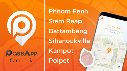 PassApp Taxi in Cambodia v0.34.16-ANTHELION screenshots 1