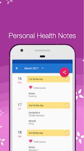 Period Tracker Bloom Menstrual Cycle Tracker v3.7 screenshots 3