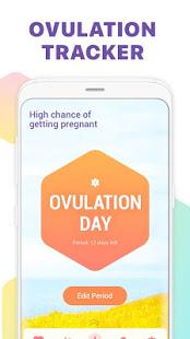Period Tracker Ovulation Calendar amp Fertility app v1.67.68.GP screenshots 3