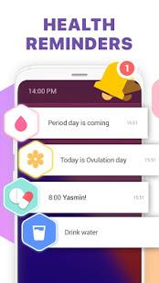 Period Tracker Ovulation Calendar amp Fertility app v1.67.68.GP screenshots 5