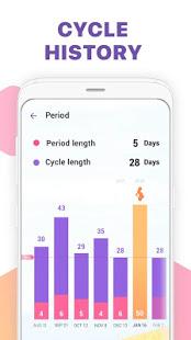 Period Tracker Ovulation Calendar amp Fertility app v1.67.68.GP screenshots 6