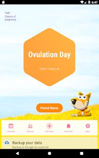 Period Tracker Ovulation Calendar amp Fertility app v1.67.68.GP screenshots 8