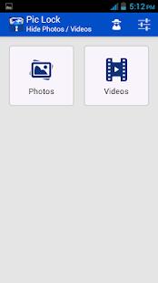 Pic Lock- Hide Photos amp Videos v3.1 screenshots 3