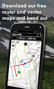 Polaris GPS Navigation Hiking Marine Offroad v9.18 screenshots 2