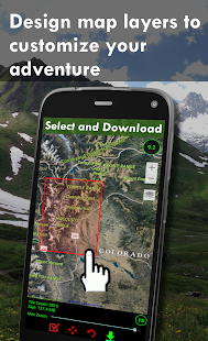 Polaris GPS Navigation Hiking Marine Offroad v9.18 screenshots 3