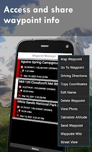 Polaris GPS Navigation Hiking Marine Offroad v9.18 screenshots 5