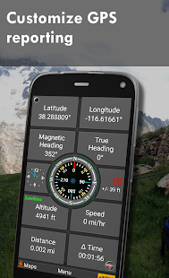 Polaris GPS Navigation Hiking Marine Offroad v9.18 screenshots 6