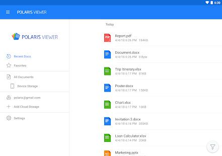 Polaris Viewer – PDF Docs Sheets Slide Reader v9.0.13 screenshots 8