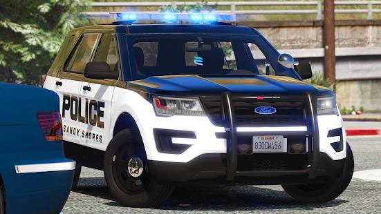 Police Spooky Jeep Parking Simulator – Car Driving v1.4 screenshots 1