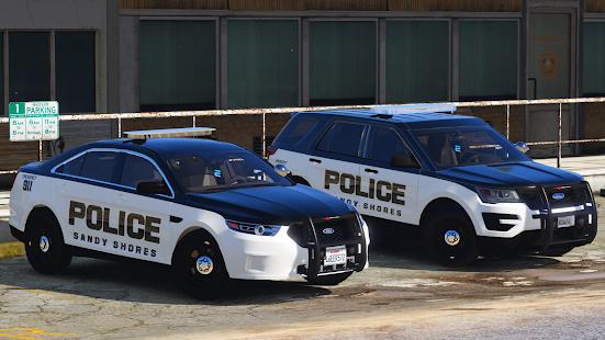 Police Spooky Jeep Parking Simulator – Car Driving v1.4 screenshots 10