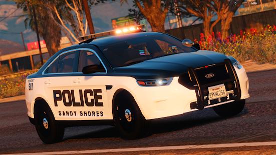 Police Spooky Jeep Parking Simulator – Car Driving v1.4 screenshots 4
