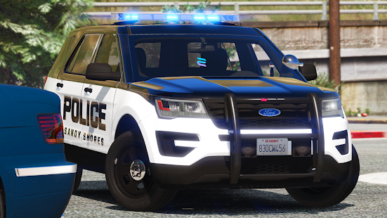Police Spooky Jeep Parking Simulator – Car Driving v1.4 screenshots 5